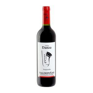 SEÑORIO DE ONDAS vino tinto DO Valdepeñas botella 75 cl