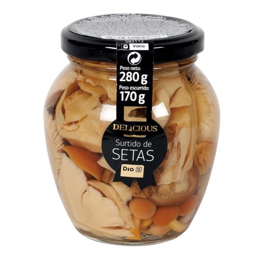 DIA DELICIOUS surtido de setas tarro 170 g