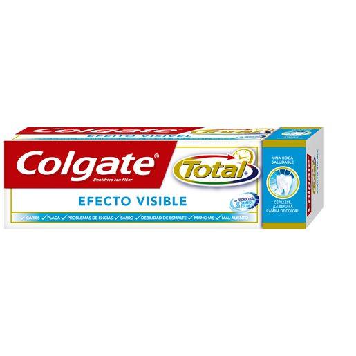 COLGATE pasta dentífrica total efecto visible tubo 75 ml