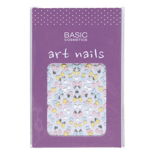 BASIC decoración de uñas Nº 3 Lazos Colores