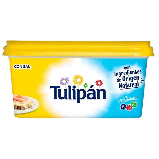 TULIPÁN margarina con sal barqueta 500 gr