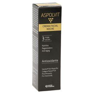ASPOLVIT crema facial de noche triple acción bote 30 ml