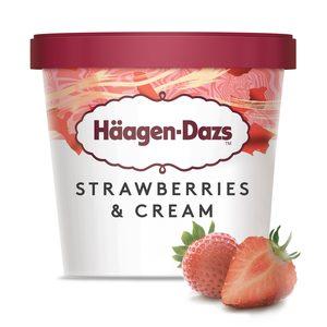 HAAGEN DAZS helado fresa tarrina 81 gr