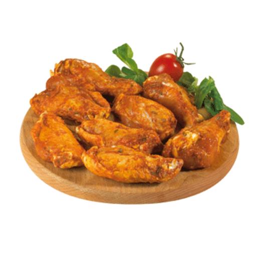 FLOR DE PANÍS alas de pollo adobadas bandeja 450 gr