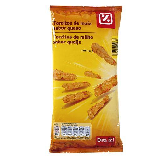 DIA rizados de maiz sabor queso 120 gr