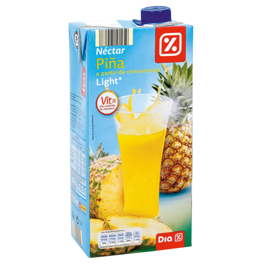 DIA néctar light piña envase 2 lt