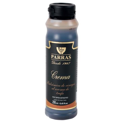 PARRAS crema balsámica de vinagre al aroma trufa bote 250 ml