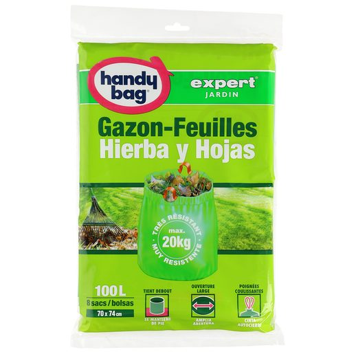 HANDY BAG Expert bolsa para hierbas y hojas 100 lt