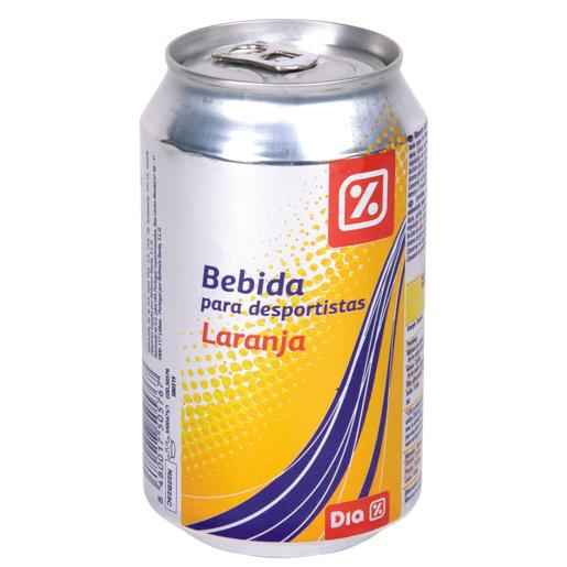 DIA bebida refrescante aromatizada naranja lata 33 cl