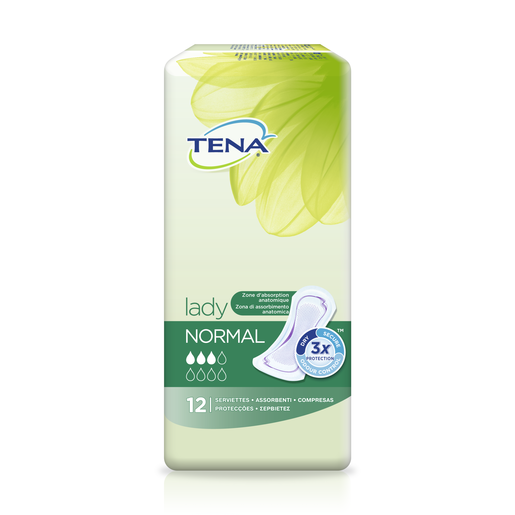 TENA Lady compresas de incontinencia normal paquete 12 uds