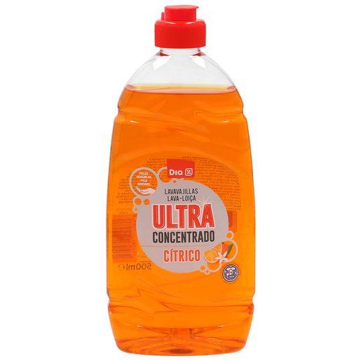 DIA lavavajillas mano ultra concentrado cítrico botella 500 ml