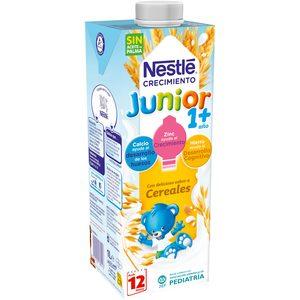 NESTLE Junior leche crecimiento cereales +12 meses envase 1 lt