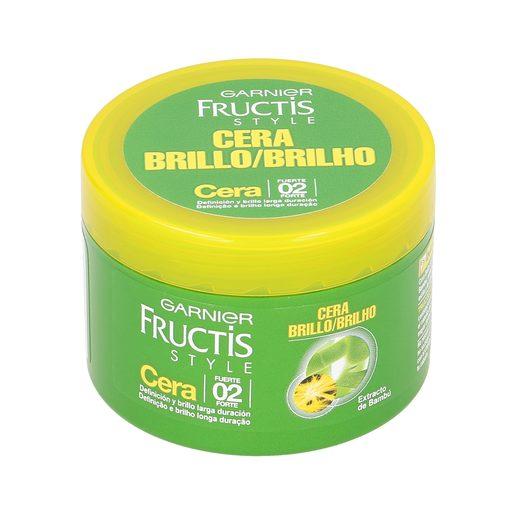 FRUCTIS Style cera fijadora de peinado fuerte tarro 75 ml