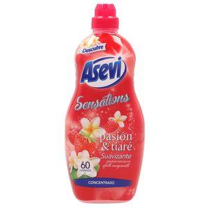 ASEVI Sensations suavizante concentrado pasión & tiaré botella 60 lv