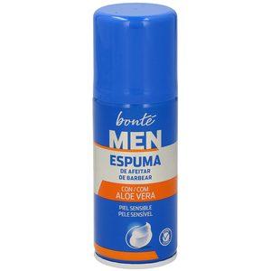BONTE espuma de afeitar piel sensible formato viaje spray 75 ml
