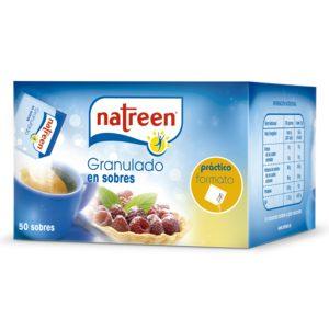 NATREEN edulcorante granulado sobres 50 gr