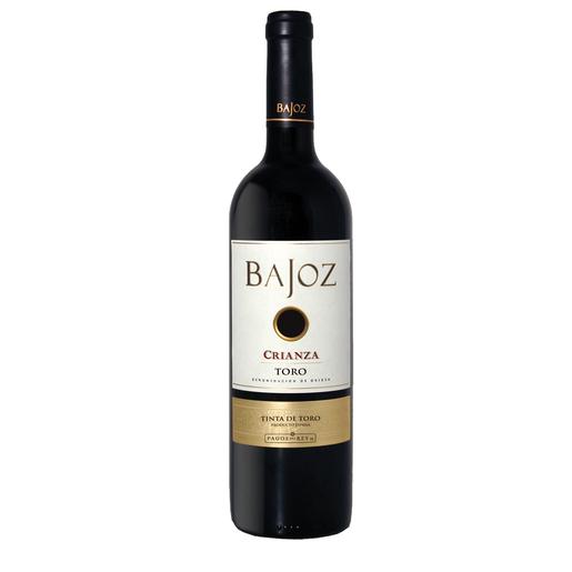 BAJOZ vino tinto crianza Do Toro botella 75 cl