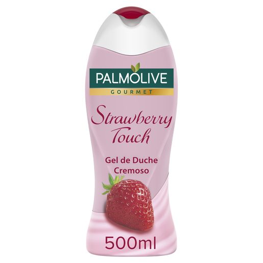 PALMOLIVE gel de ducha cremosa fresa bote 500 ml