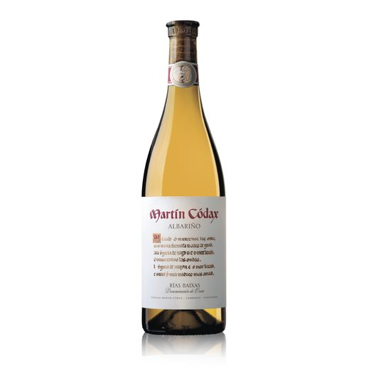MARTIN CODAX vino blanco albariño DO Rías Baixas botella 75 cl