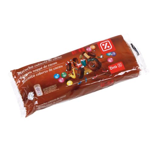 DIA pastelito relleno y cubierto de chocolate paquete 360 gr