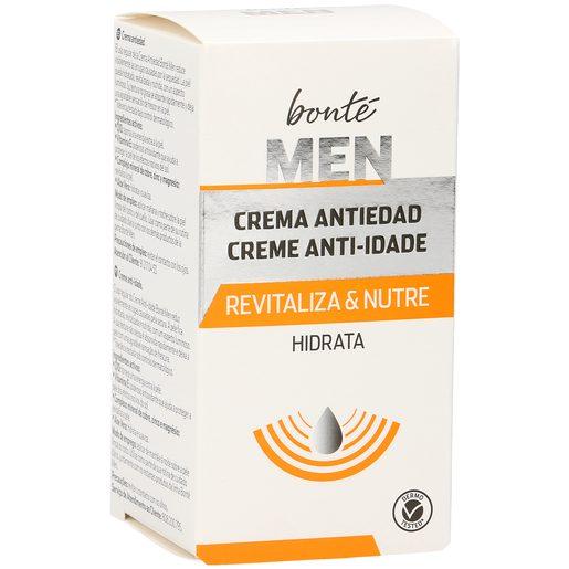 BONTE crema hidratante facial anti-edad hombre bote 50 ml
