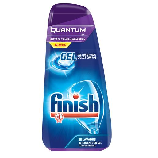 FINISH lavavajillas máquina gel quantum botella 500 ml