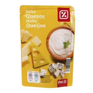 DIA salsa 4 quesos bolsa 140 gr