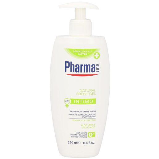 PHARMALINE gel de higiene íntima aloe vera bote 250 ml