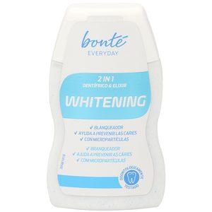 BONTE pasta dentífrica 2 en 1 efecto blanqueador bote 100 ml