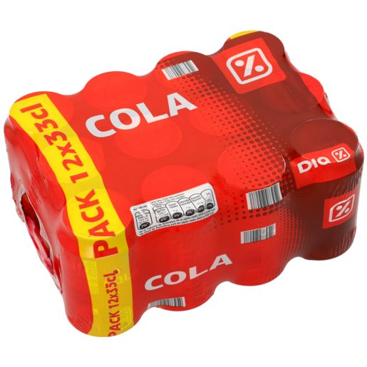 DIA refresco de cola pack 12 latas 33 cl