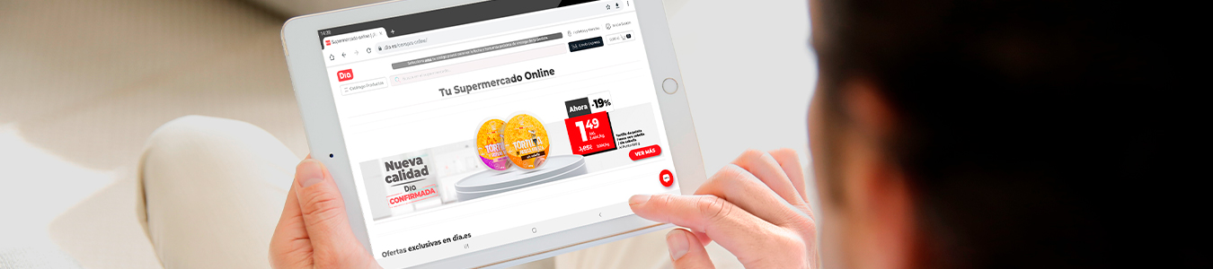 Cómo comprar online en dia.es