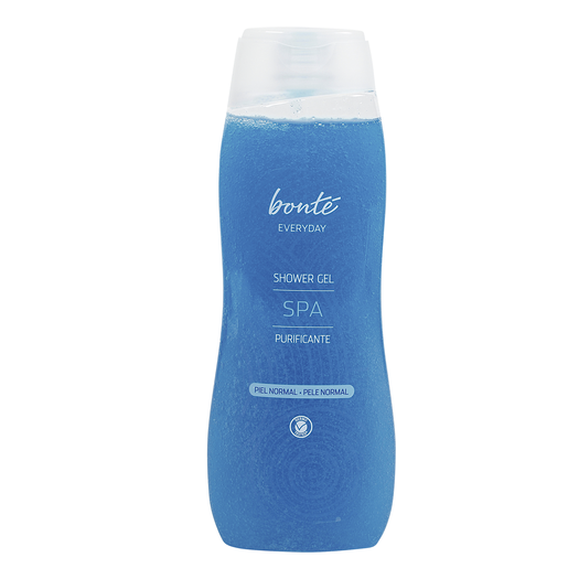 BONTE gel de ducha spa purificante piel normal bote 750 ml
