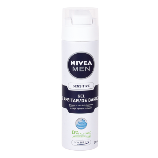 NIVEA MEN gel de afeitar piel sensible spray 200 ml