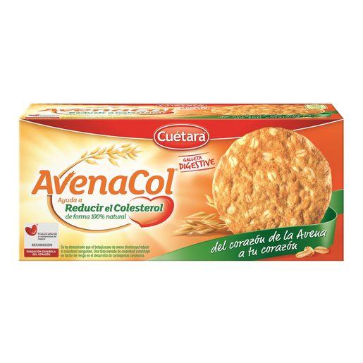 CUETARA galletas digestive avenacol caja 300 gr