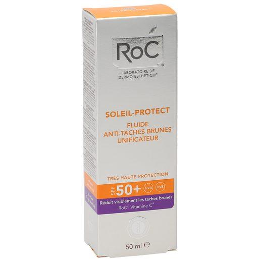 ROC Fluido unificante antimanchas spf +50 caja 50 ml