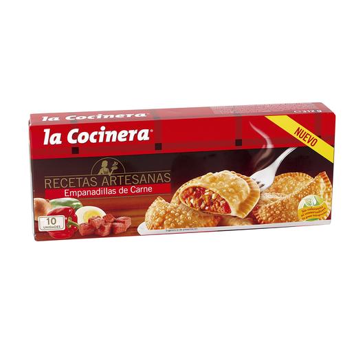 LA COCINERA empanadillas de carne caja 312 gr