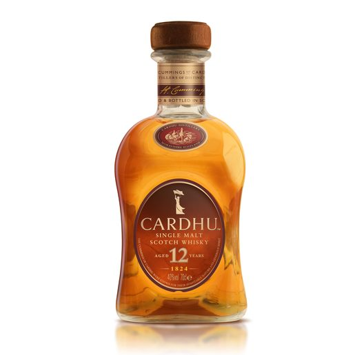 CARDHU whisky 12 años botella 70 cl