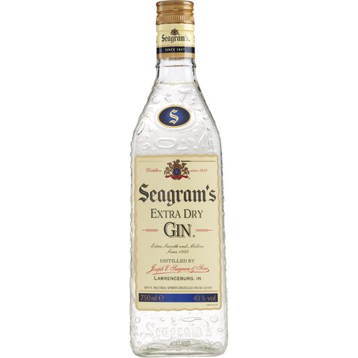 SEAGRAMS'S ginebra botella 70 cl