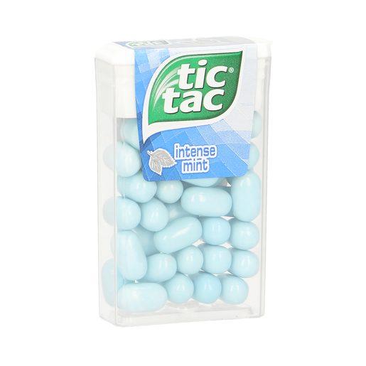 TIC TAC caramelo de menta intensa envase 18 gr