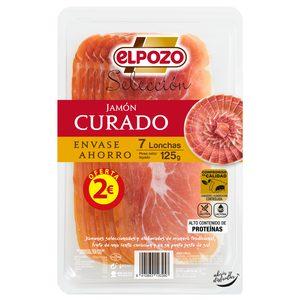 ELPOZO Selección jamón curado en lonchas sobre 125 gr