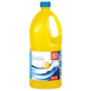 DIA lejía hogar garrafa amarilla botella 2 lt