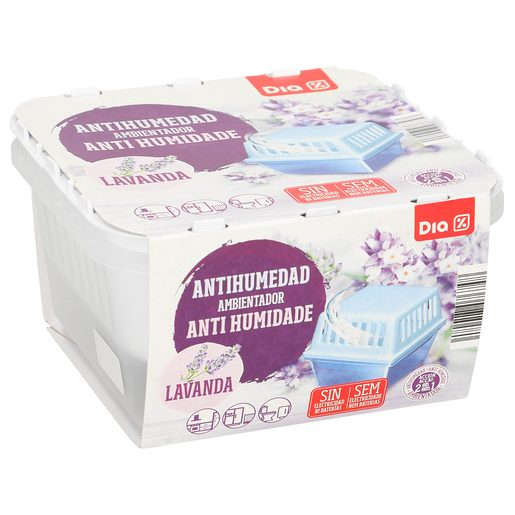 DIA antihumedad aroma lavanda aparato + recambio 1 ud