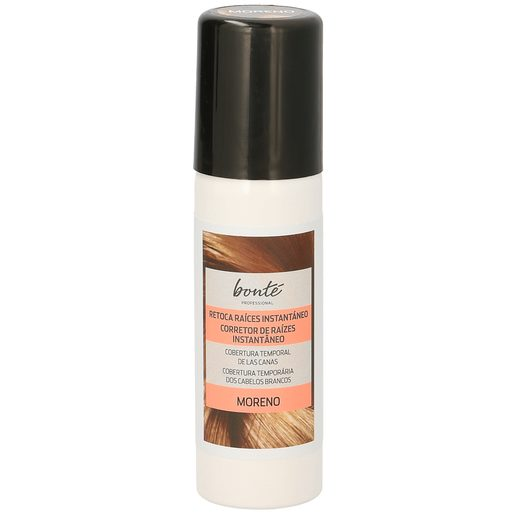 BONTE tinte moreno retoca raíces instantáneo spray 75 ml