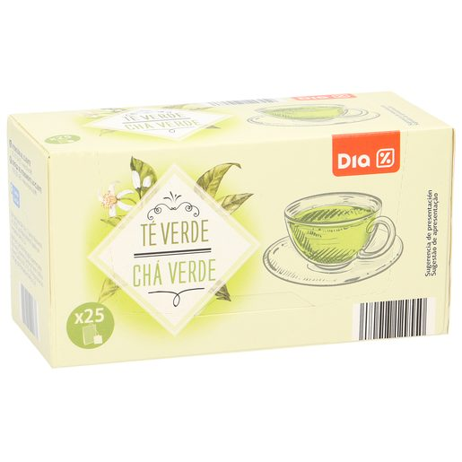 DIA té verde estuche 25 bolsitas