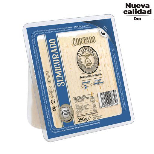 DIA EL CENCERRO queso semicurado cortado cuña 250 gr
