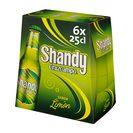 SHANDY CRUZCAMPO cerveza con limón pack 6 botella 25 cl