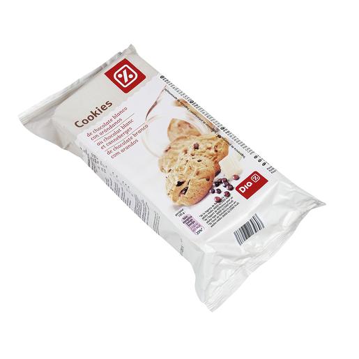 DIA cookies con chocolate blanco y arándanos estuche 200 gr