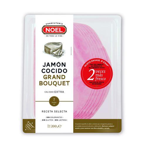 NOEL grand bouquet jamón cocido extra sobre 200 g