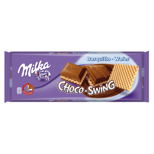 MILKA chocolate barquillo choco - swing tableta 300 gr