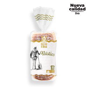 EL MOLINO DE DIA pan de molde rústico bolsa 500 gr